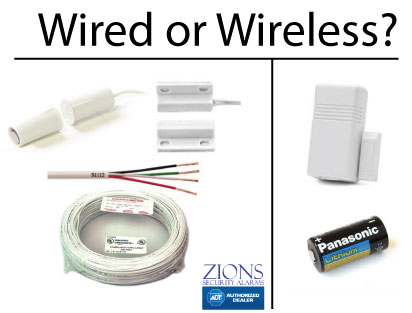 wired or wireless