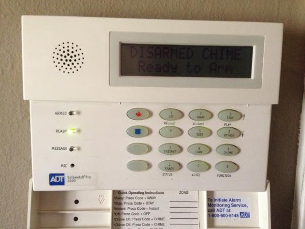 ha 871 alarm control panel manual