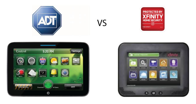 ADT Pulse or Xfinity home