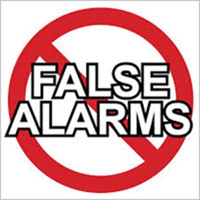 no false alarms