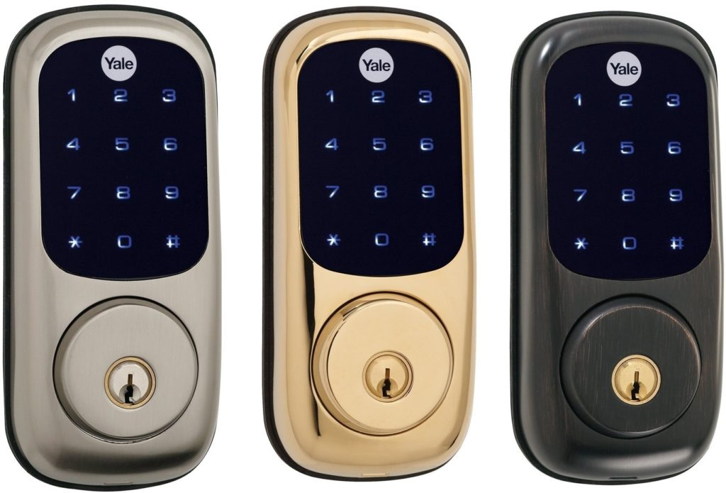 Yale Touchscreen Deadbolt Add It To Your Adt Pulse