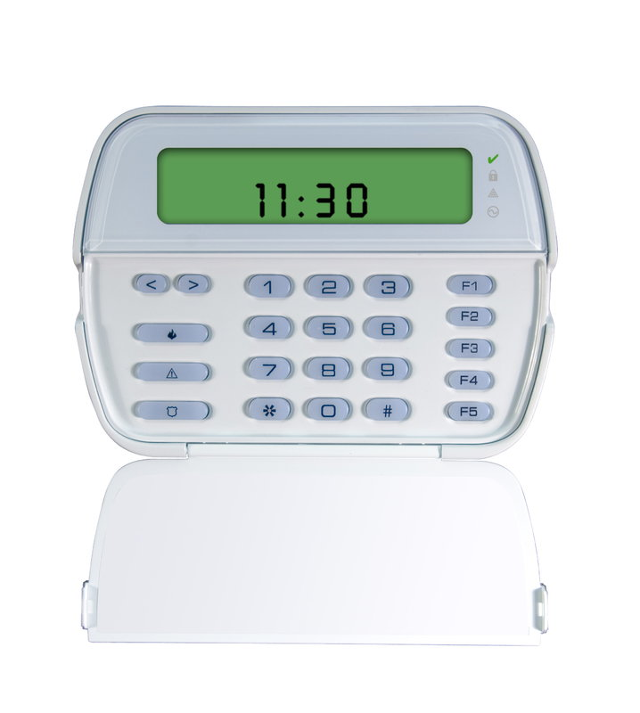 DSC Powerseries LCD Icon Keypad