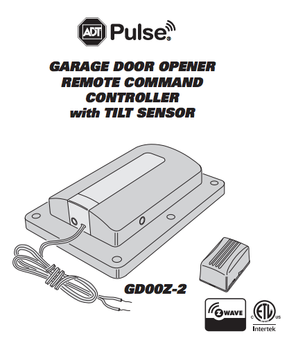 Adt pulse garage door remote controller z wave by linear gd00z - Everything to know about garage door opener when shopping ...