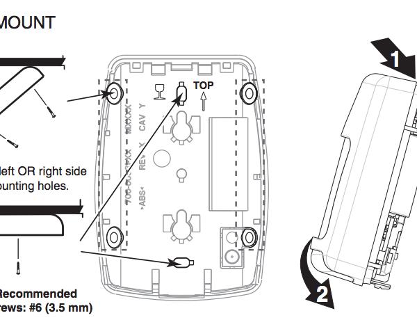 Wireless ADT Motion Detector