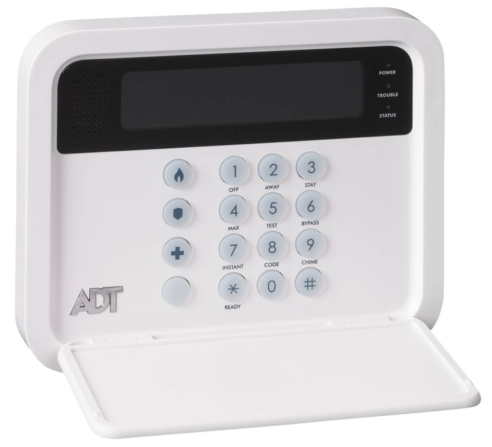 Vivint Alarm System >> ADT TS Keypad for ADT Pulse TS Security Systems