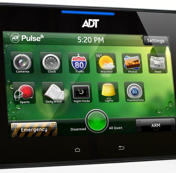 HSS301-1ADNAS ADT Pulse High Definition Video Touchscreen Keypad