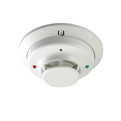 Hardwired 2-wire Smoke and Heat Detector - Zions Security Alarms ...