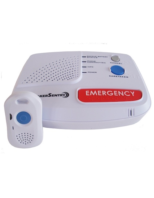 Medical alert system with two way pendant zions security alarms medical alert system with pendant aloadofball Gallery