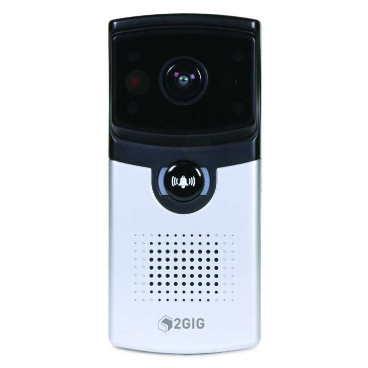 2GIG Doorbell Camera - Zions Security Alarms - ADT Authorized Dealer