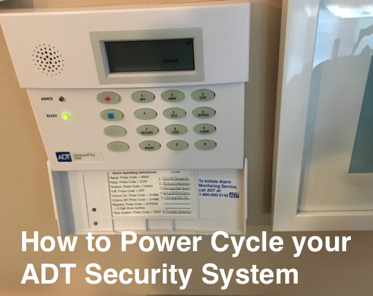 Power cycle your adt system a quick easy how to how to power cycle my adt system solutioingenieria Gallery