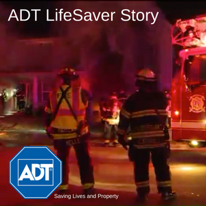 ADT Customer Saved From House Fire
